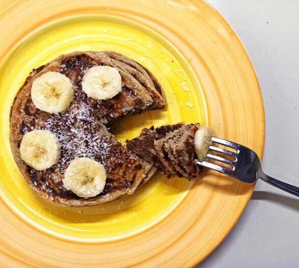 Vegan-protein-pancakes
