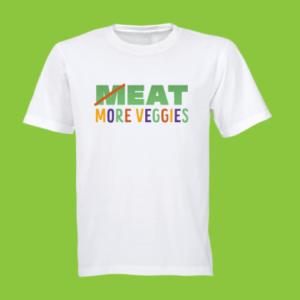 eat-more-veggies t-shirt