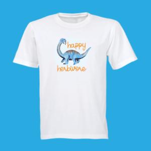 happy-herbivore t-shirt
